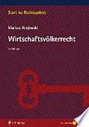 Krajewski, Wirtschaftsvölkerrecht