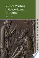Science Writing in Greco Roman Antiquity
