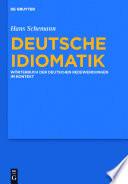 Deutsche Idiomatik