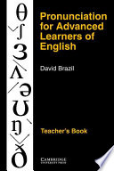 Pronunciation for Advanced Learners of English Teacher s Book