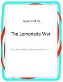Novel Unit for the Lemonade War