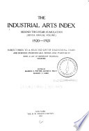 Applied Science and Technology Index
