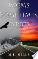 Poems Sometimes Lyrics