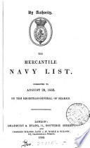 the merchanitle navy list