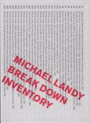 Break down inventory