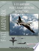 F 111 Aardvark Pilot S Flight Operating Manual