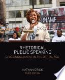 Rhetorical Public Speaking