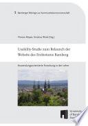 Usability-Studie zum Relaunch der Website des Erzbistums Bamberg