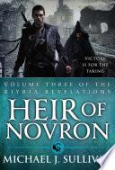 Heir Of Novron book