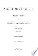 Nordisk musik-tidende