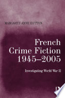 French Crime Fiction  1945   2005