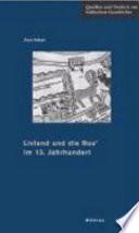 Livland und die Rus' im 13. Jahrhundert