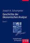 Geschichte der ökonomischen Analyse