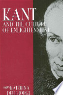 Kant and the Culture of Enlightenment