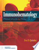 Immunohematology  Principles and Practice Book PDF