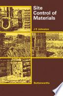 Site Control of Materials
