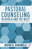 Pastoral Counseling In Africa And The West