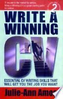 Write a Winning CV