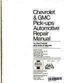 Chevrolet   Gmc Pickups  1988 94 Automotive Repair Manual