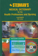 Stedman sMedical Dictionary For The Health Professions and Nursing