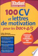 100 CV et lettres de motivation pour les bac   4 5