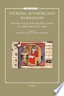 illustration du livre Patrons, Authors and Workshops