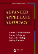 Advanced Appellate Advocacy