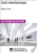 Go  t n  oclassique de Mario Praz