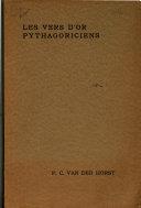 Les vers d'or - Hieroclès - commentaire sur les vers d'or des pythagoriciens