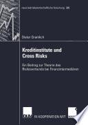 Kreditinstitute und Cross Risks