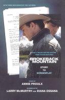 Brokeback Mountain  Story to Screenplay