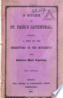 A Guide to St  Paul s Cathedral Book PDF