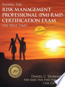 Passing the Risk Management Professional  PMI RMP  Certification Exam the First Time