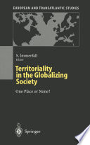 Territoriality in the Globalizing Society
