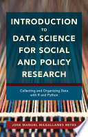 Introduction to Data Science for Social and Policy Research