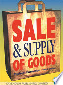 Sale & Supply of Goods Taylor Francis An Informa Company