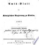 Amts-Blatt der preußischen Regierung zu Köslin