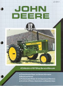John Deere Shop Manual JD 201  I   T Shop Service