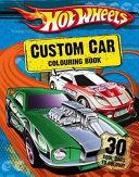 Hot Wheels Custom Car Colouring Book