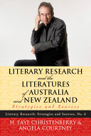 Literary Research and the Literatures of Australia and New Zealand