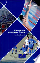 illustration du livre L'autonomie du sport en Europe