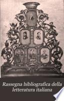 Rassegna bibliografica della letteratura italiana