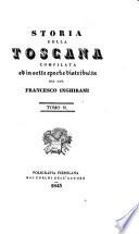 Storia della Toscana compilata ed in sette epoche distribuita dal cav. Francesco Inghirami
