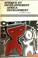 Afrique Et Développement Of Economic And Social Research