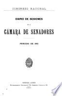 Diario de sesiones de la C  mara de Senadores
