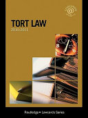 Tort Lawcards 2010 2011
