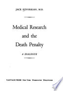 Medical research and the death penalty