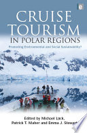 Cruise Tourism In Polar Regions : regions and cruise ship tourism in...