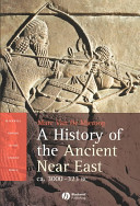 A History of the Ancient Near East