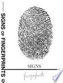 Signs of Fingerprints Book PDF